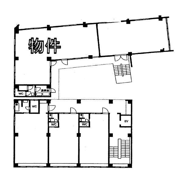 正木4 第一杉本ビル 平面図