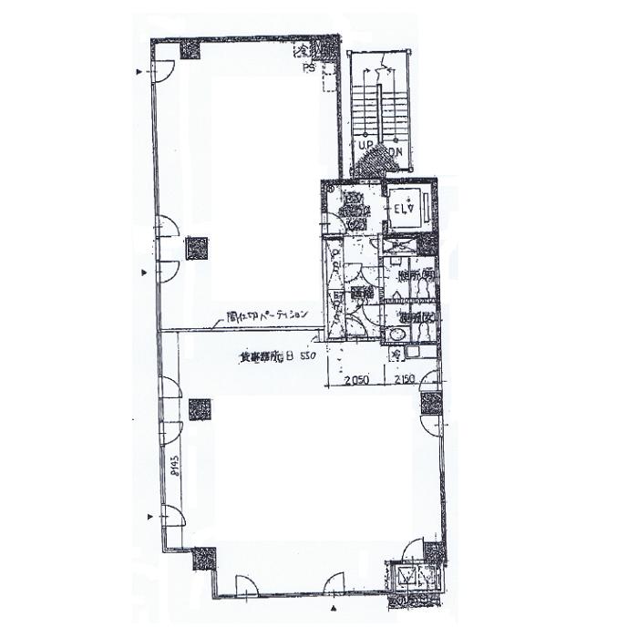 泉1 ハイエスト久屋 平面図