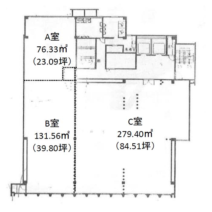 東桜1 IKKOパーク栄ビル 平面図