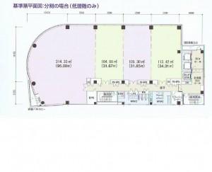 名駅南1 Daiwa名駅ビル 平面図