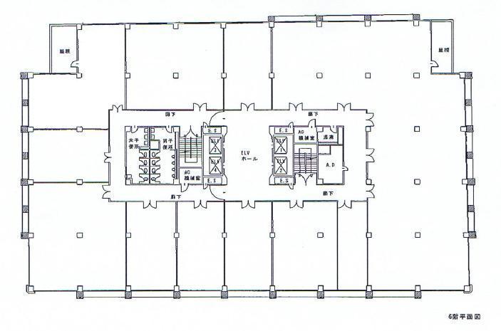 栄4 昭和ビル 平面図