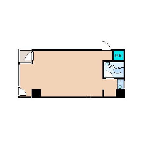 丸の内2 MIWA第一ビル 平面図
