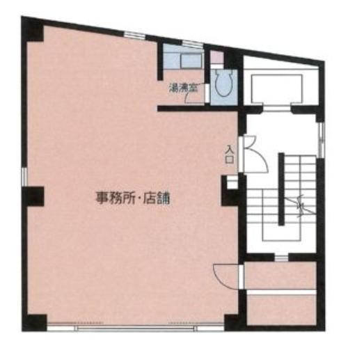 神宮2 HP神宮ビル 平面図