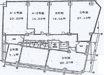 栄4 KURIビル 平面図
