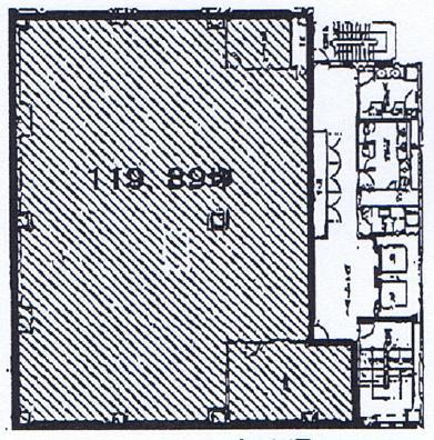 丸の内3 三晃社ビル 平面図