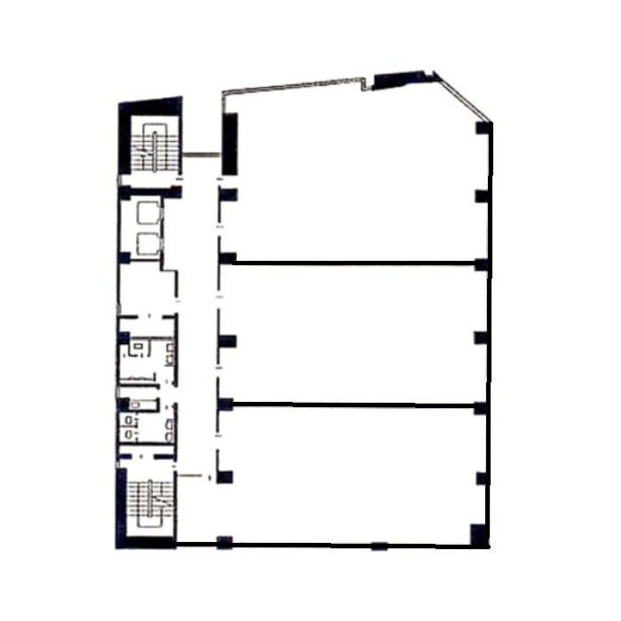 葵1 シノダビル 平面図