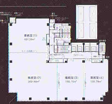 丸の内3 いちご丸の内ビル 平面図