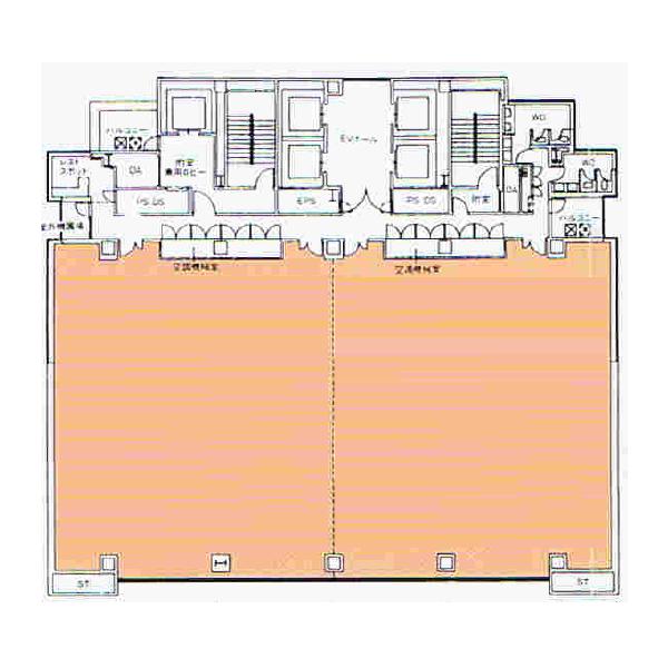 丸の内2 丸の内KSビル 平面図