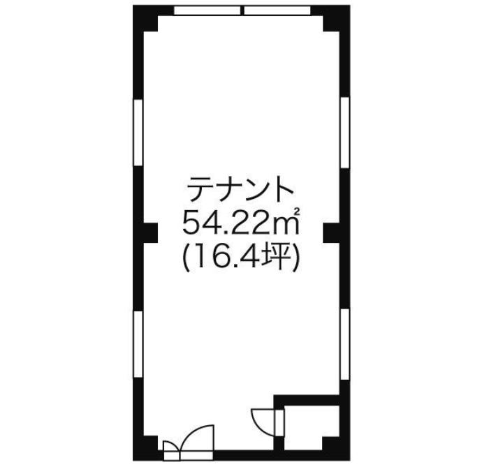 丸の内3 徳三ビル 平面図