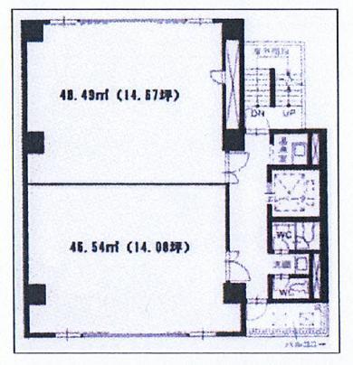栄2 アーク白川公園ビルディング別館 平面図