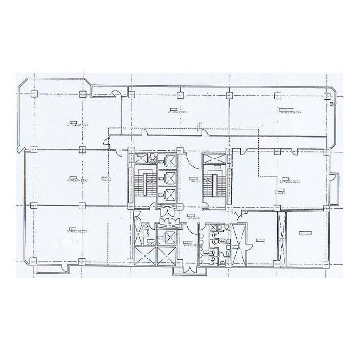 今池5 名古屋センタープラザビル 平面図