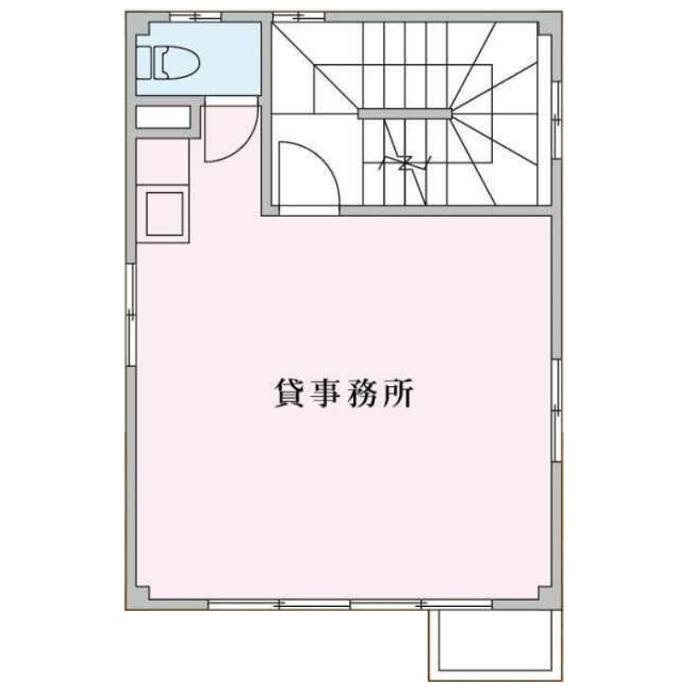平安1 ミサキビル 平面図