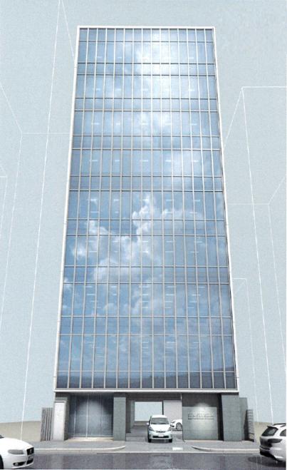 太閤3 セキスイハイム名古屋駅前ビルディング 外観パース
