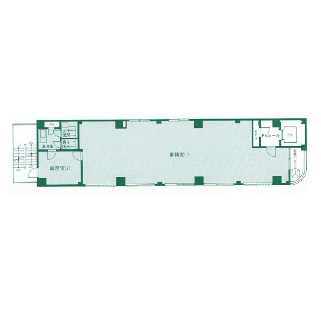 名駅南3 ASビル 平面図