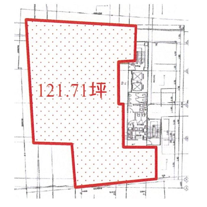 名駅5 名駅東ビル 平面図