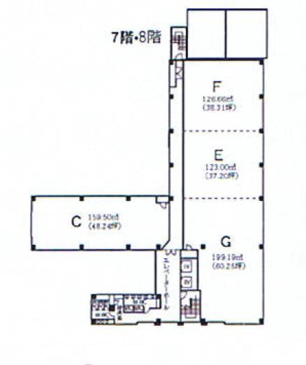 丸の内3 ナカトウビル 平面図