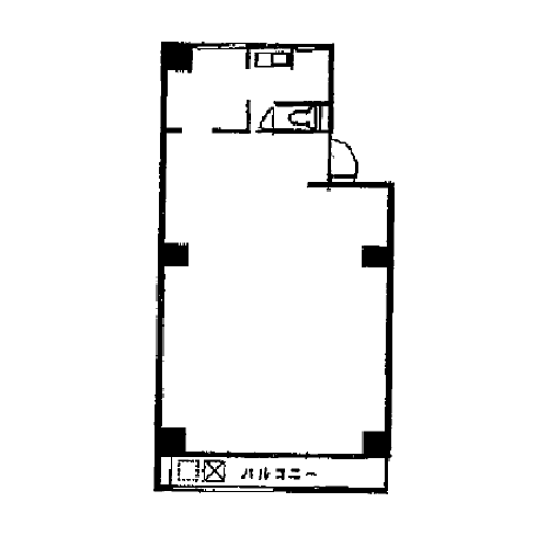 栄3 伊東屋ビル本館 平面図