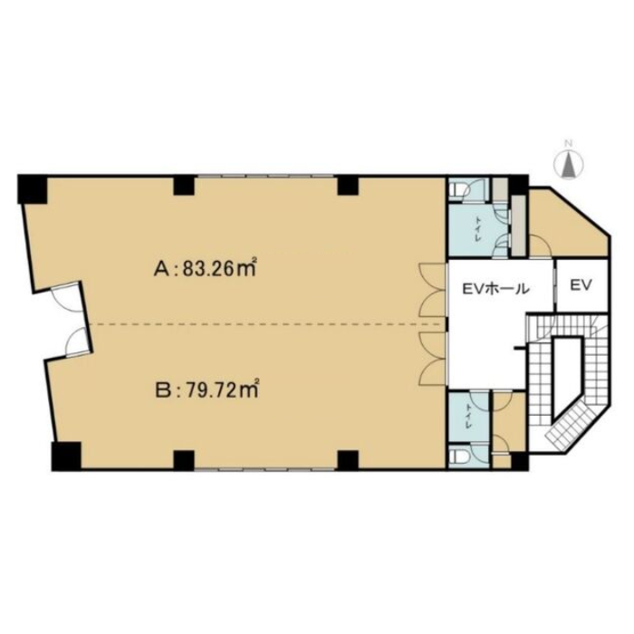 筒井3 第29オーシャンビル 平面図