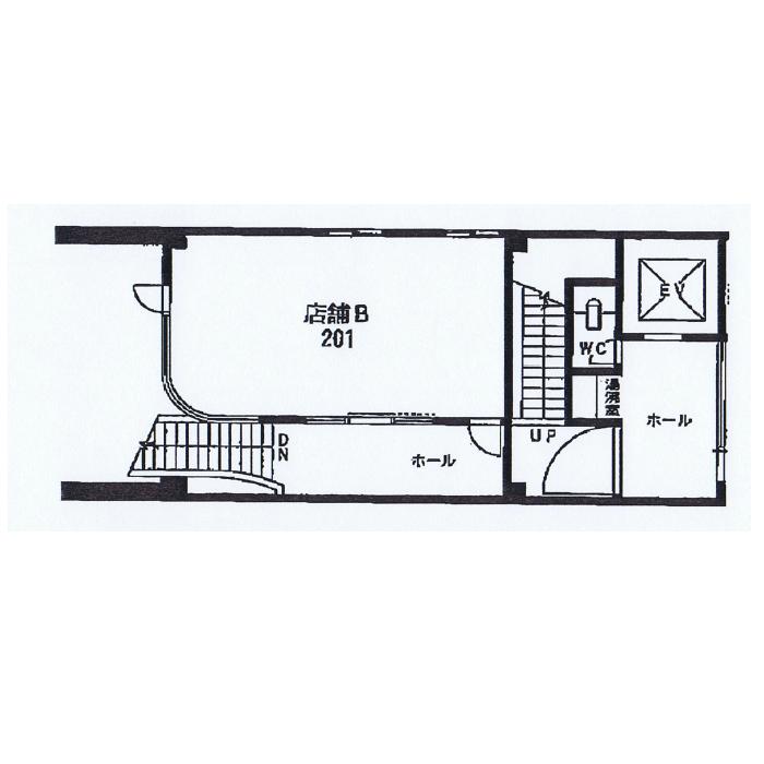 今池5 大須賀ビル 平面図