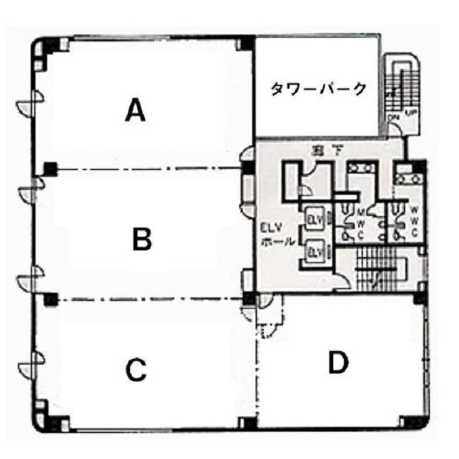 錦1 カネヨビル 平面図