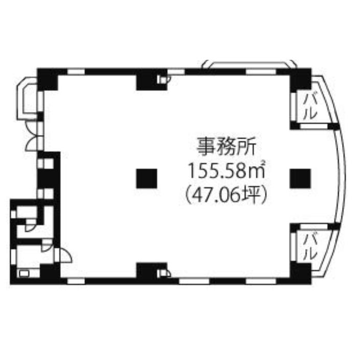 平安2 ハイムクランツ 平面図