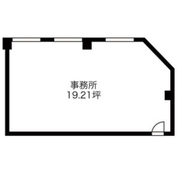 太閤4 木村ビル 平面図