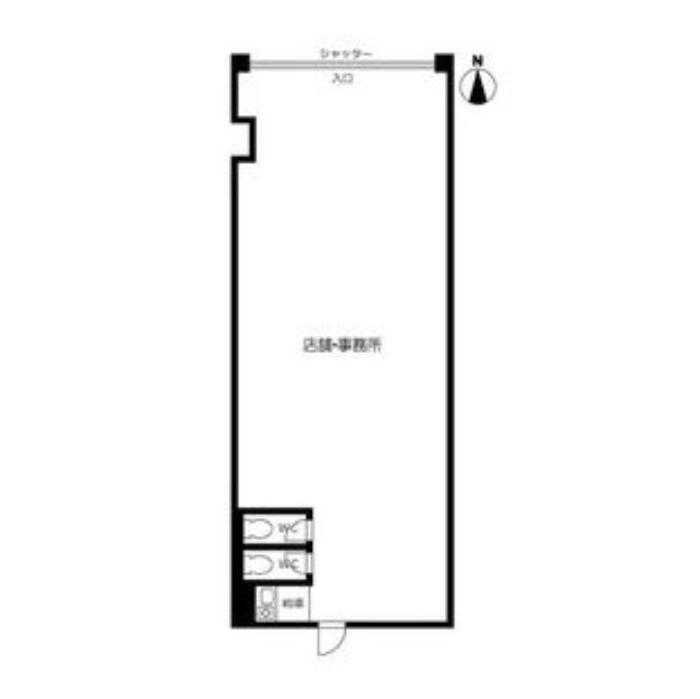 仲田2 池下タワーズ 平面図