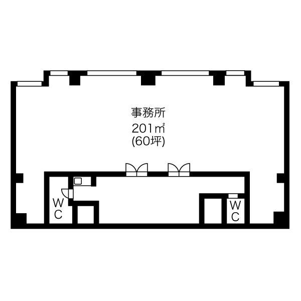 児玉3 ナカヤマビル 平面図