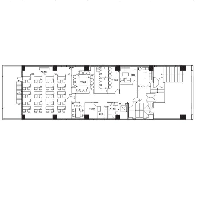 三番町 熱田区三番町1棟貸ビル 平面図