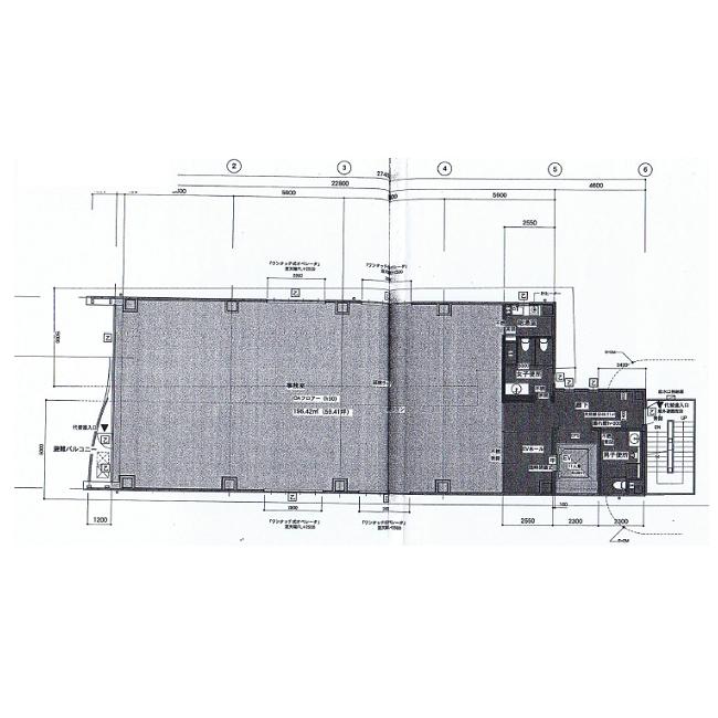 名駅2 CK23名駅前ビル 平面図