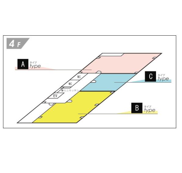 大須4 ツバサビル 平面図