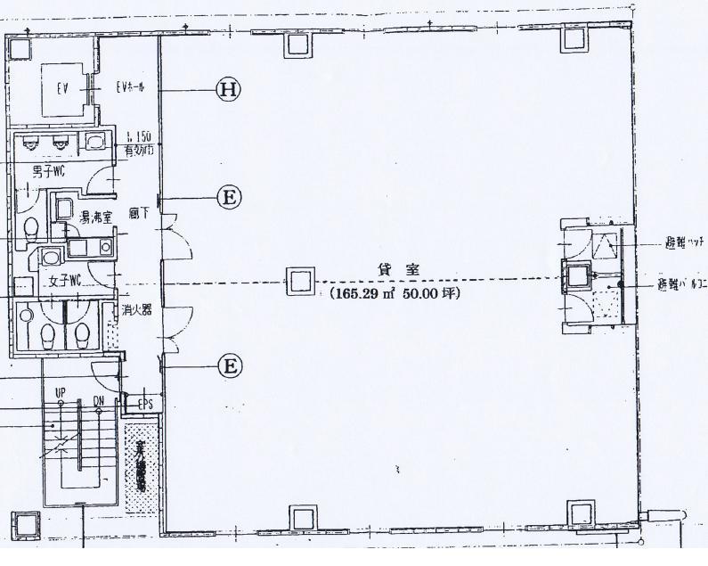 錦3 第43オーシャンビル 平面図