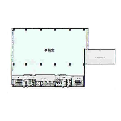 丸の内2 NUP・フジサワ丸の内ビル 平面図