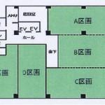 栄 名古屋情報センタービル 平面図