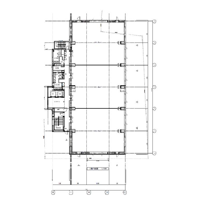 正木3 NFC金山ビル 平面図