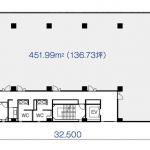 葵1 アーバンネット布池ビル 平面図