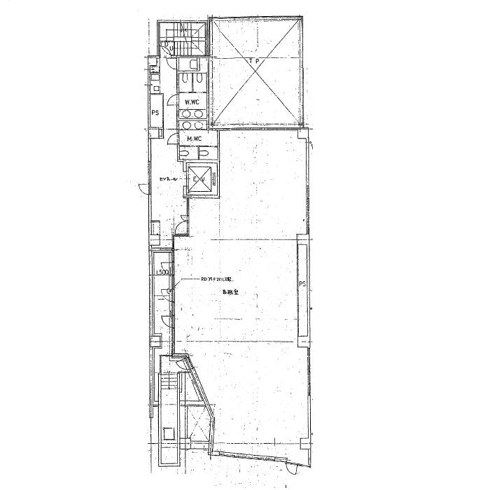東桜1 ヴェッセル丸杉 平面図