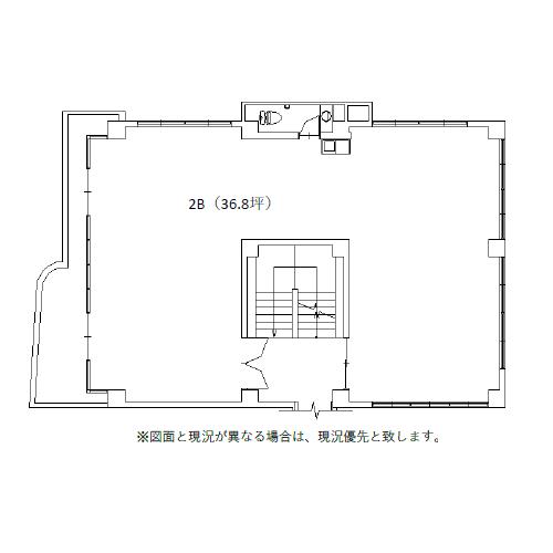 則武新町4 加島ビル 平面図