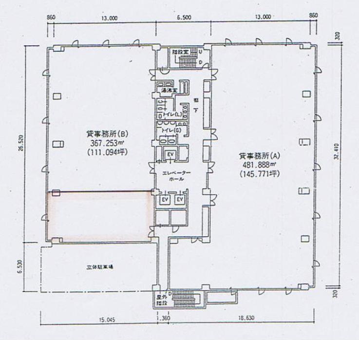 名駅2 オーキッドビル 平面図