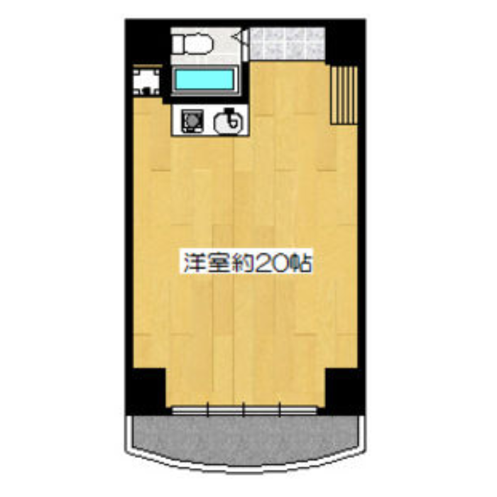 仲田 BB池下ビル 平面図