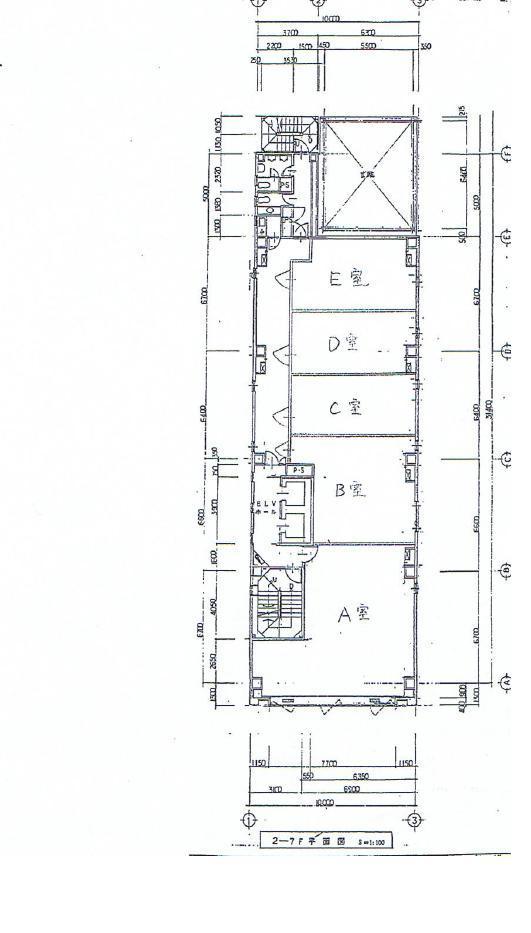 錦3 錦アクシスビル 平面図