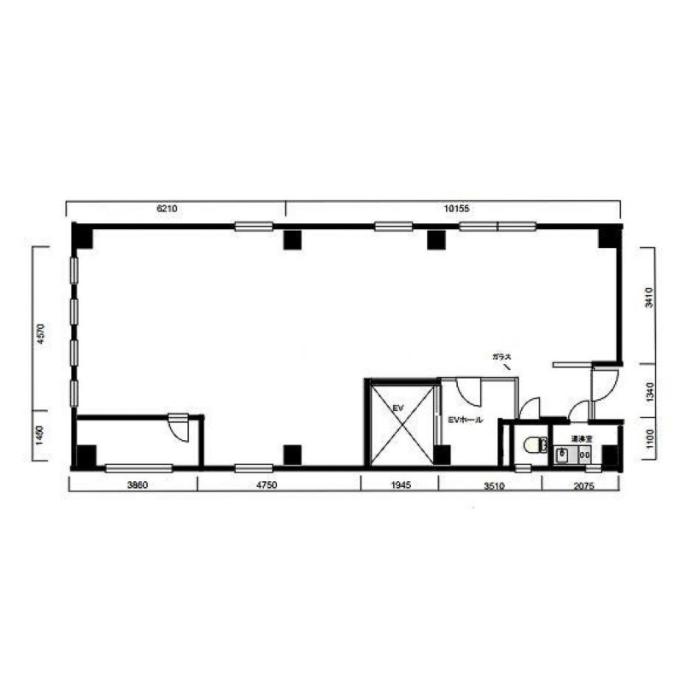 新栄1 名古屋穂積ビル 平面図