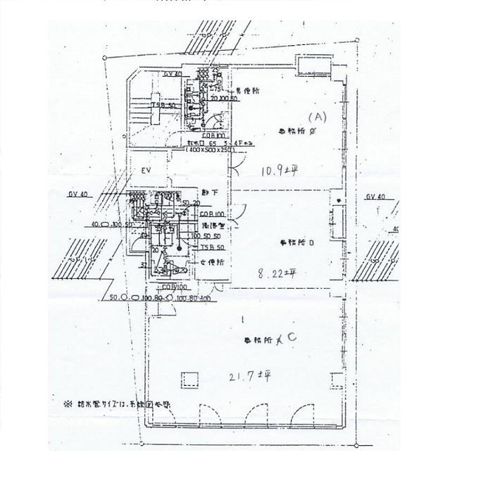 名駅南1 SUZU1 05 平面図