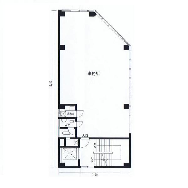 栄2 永楽ビル 平面図
