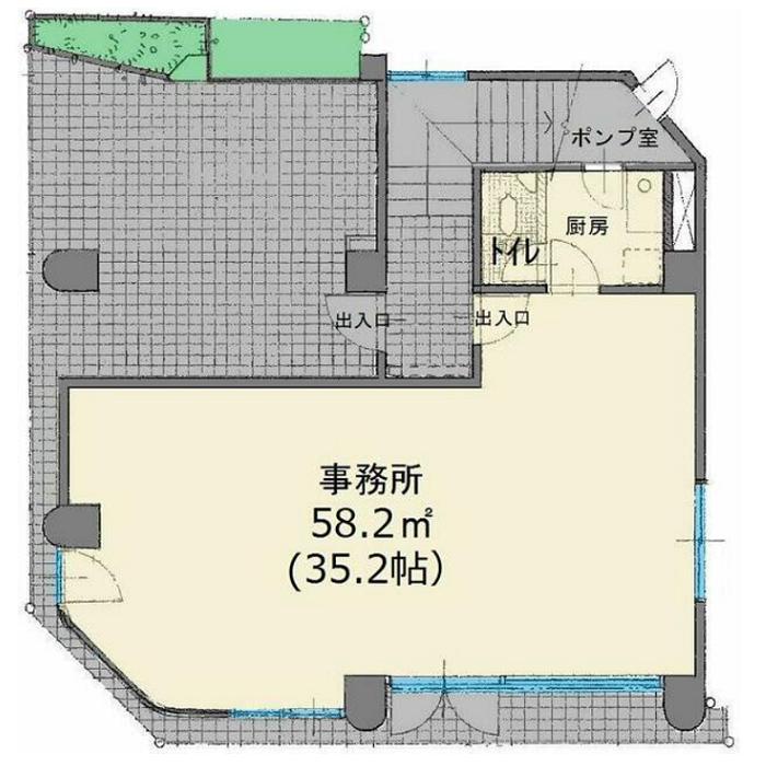 上名古屋1 寿地所ビル 平面図