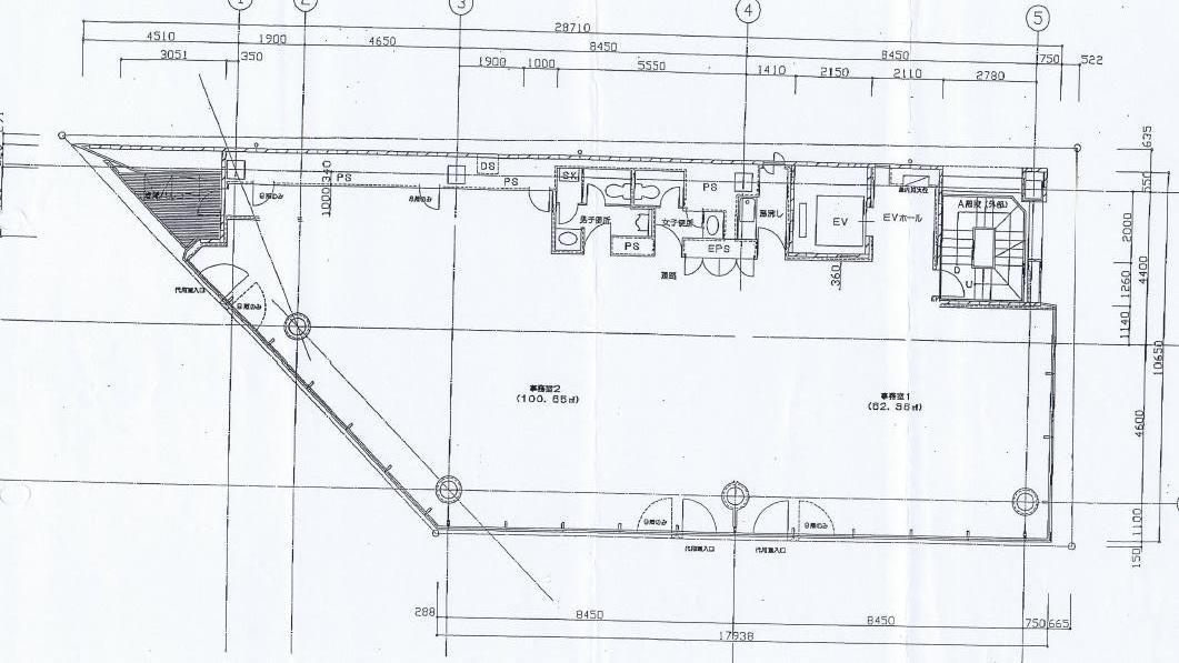 丸の内3 第5FPSビル 平面図