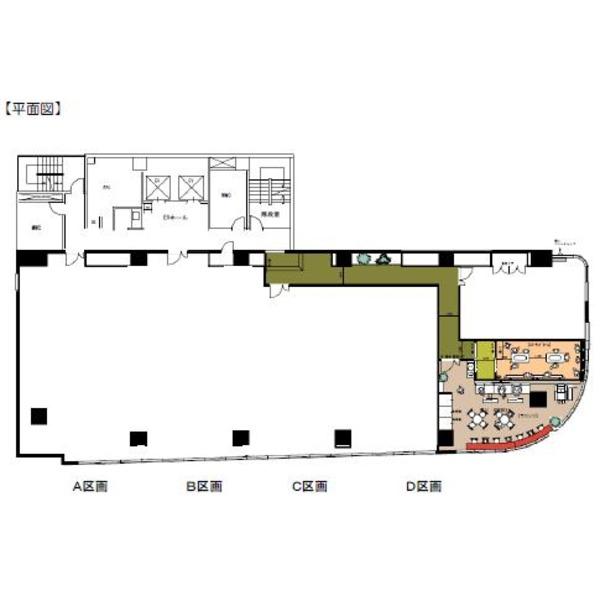 栄3 スギビル 平面図