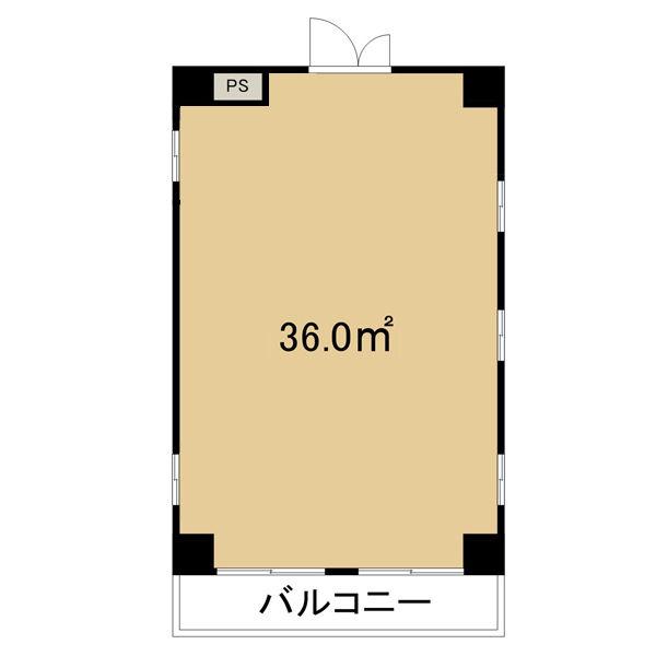 千代田4 アートイン 平面図
