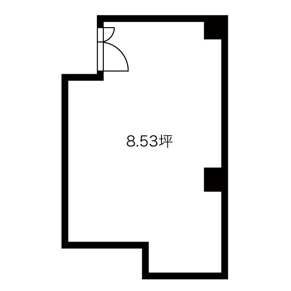 名駅4 日進ビル 平面図