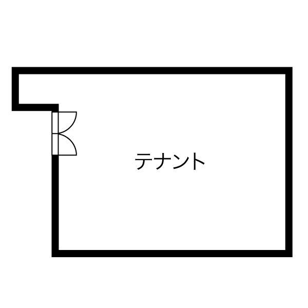 千代田3 第3記念橋ビルヂング 平面図